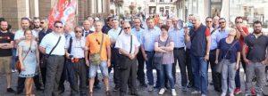 Read more about the article Turni e ferie, scatta la protesta autisti in bus sotto il municipio
