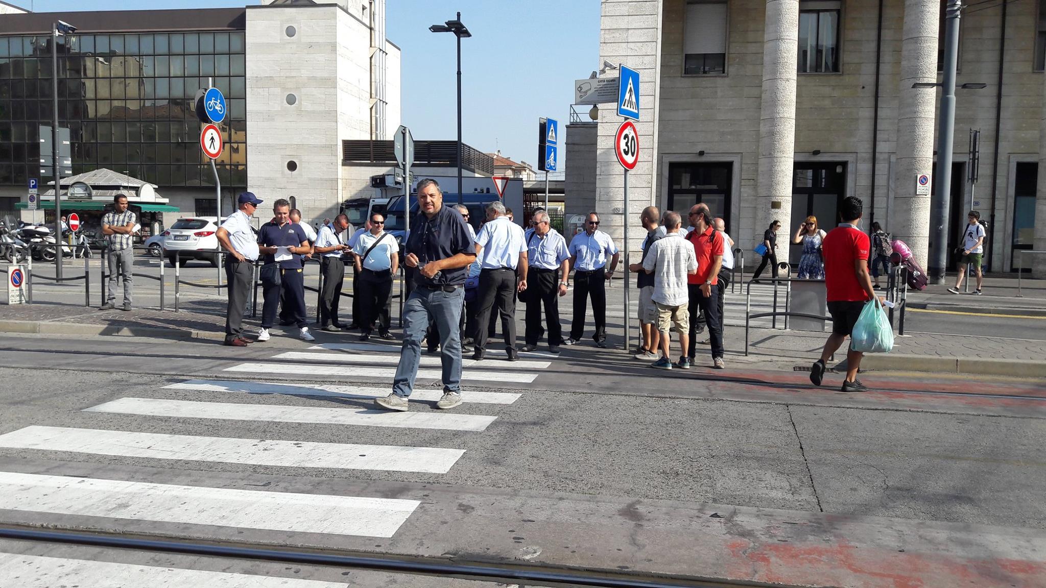 Padova – Grande adesione dei lavoratori allo sciopero del Trasporto Pubblico