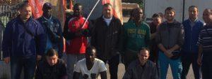 Read more about the article Tute blu della Fond Metalli in sciopero